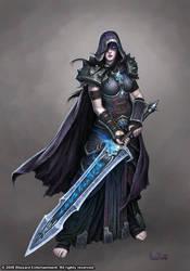 Female Death Knight by GlennRaneArt
