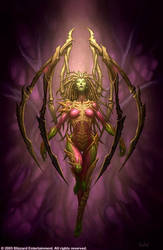 Queen of Blades by GlennRaneArt