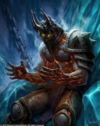 Bolvar the Lich King. by GlennRaneArt