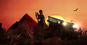 Tomb Raider IV - the Last Revelation by sk8terwawa