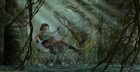 Tomb Raider I - The Cistern by sk8terwawa