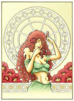 Art Noveau Colored by LinusJ