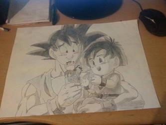 Goku and Pan by Dante2060