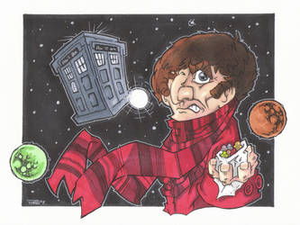 ANIMATED 4th DOCTOR by leagueof1