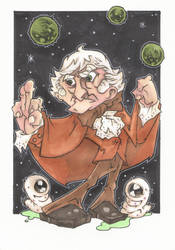 ANIMATED 3rd DOCTOR by leagueof1