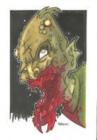 DRACONIAN ZOMBIE VARIANT by leagueof1