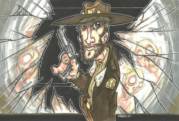 RICK GRIMES BAD DAY DAWN by leagueof1