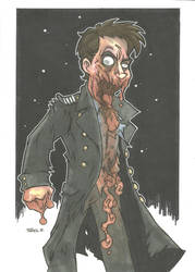 JACK HARKNESS ZOMBIE VARIANT by leagueof1