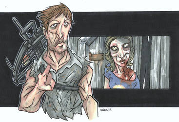 DARYL AND SOPHIA'S FATE by leagueof1