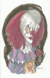 PENNYWISE THE CLOWN by leagueof1