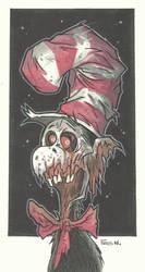 DEAD CAT IN A SCRAPPY HAT by leagueof1