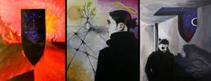 Gateway triptych by LUUVALOA