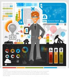 Business Infographic by kapreski