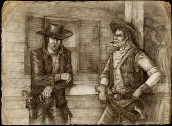 Somewhere on Wild West by Skirill