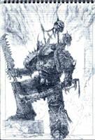 nightlord  sketch by Skirill