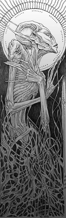 Alien by Skirill