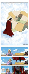 Superman Comic by DanHaring