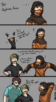 ShortComic: Contacts by Annkh-Redox