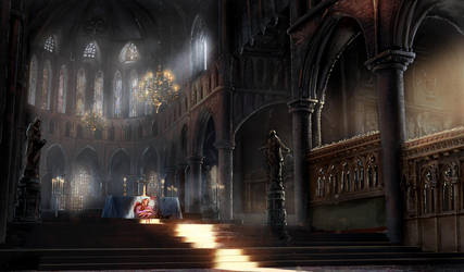 Murder in the Cathedral by eddieshred