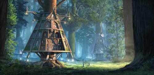 Wilderkin houses by eddieshred