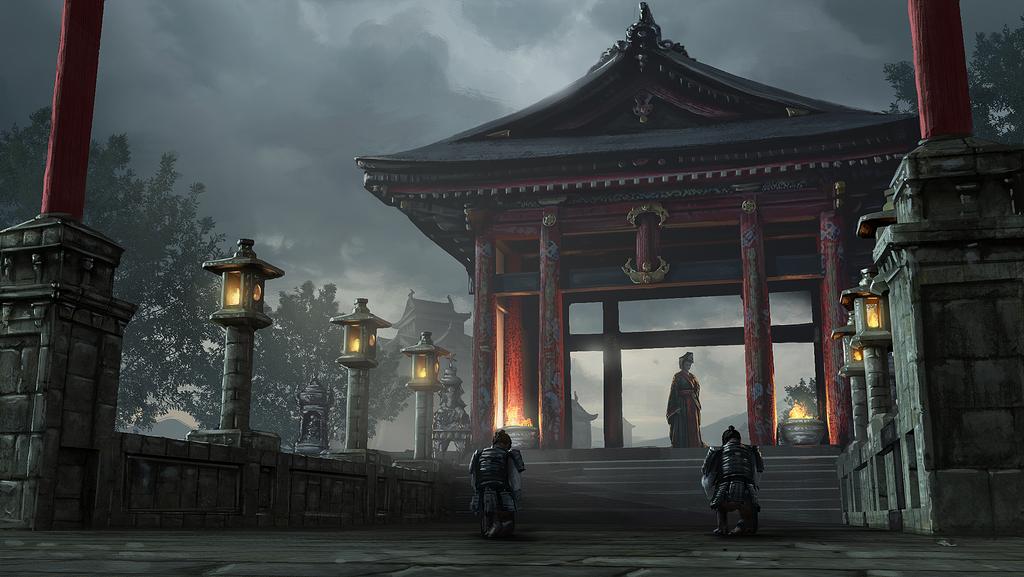 Daimyo Shrine by eddieshred