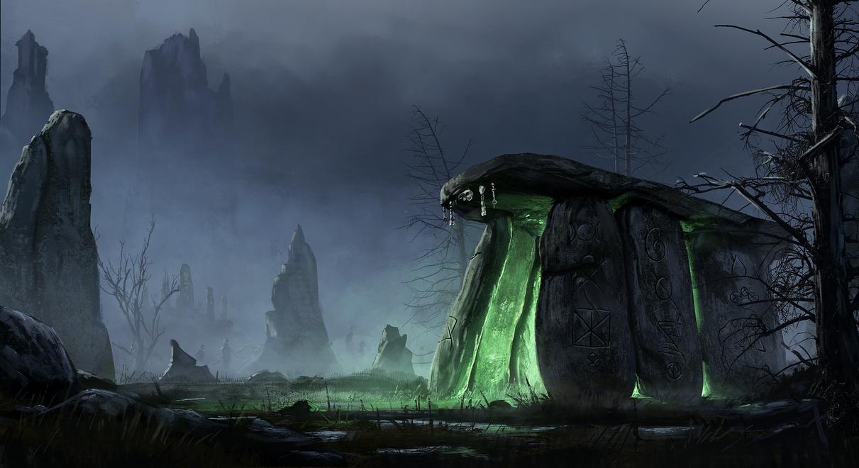 Corrupted Dolmen by eddieshred