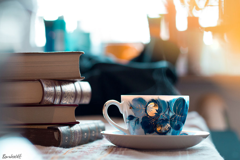 Coffee and Books by Bornhold