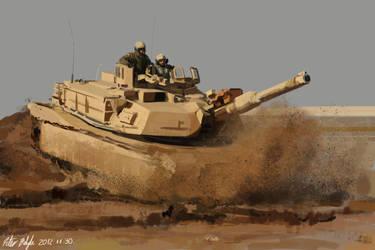 M1A1 Abrams Study by PeterPrime