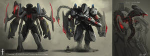 Lemurian EXO Armor by PeterPrime