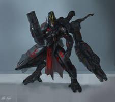 EXO Redeemer Omega Battle Armor by PeterPrime
