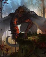 Autumn Dragon by PeterPrime
