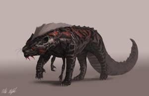 Creature concept2 by PeterPrime