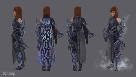 Fractal Armor Concept by PeterPrime