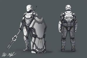 Soldier concept by PeterPrime