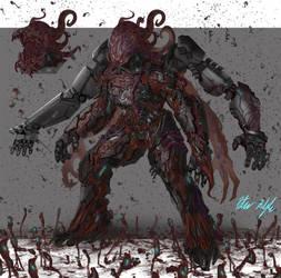 Biovirus concept by PeterPrime