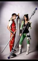 Dynasty Warriors 7 cosplay by Rukiii
