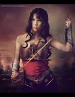Injustice Wonder Woman cosplay by Rukiii