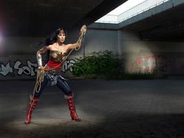 Wonder Woman Cosplay by Rukiii