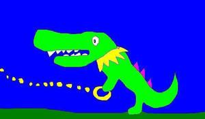 Vector the crocodile by chasethehedgehog