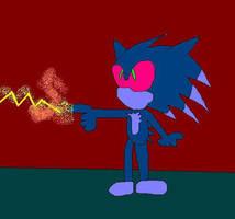 Mephiles the dark by chasethehedgehog