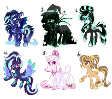 MLP theme adopts (CLOSED) by SapphireScarletta