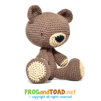 Teddy le Nounours FROGandTOAD by FROG-and-TOAD