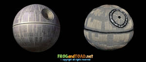 Amigurumi Death Star (with Original) FROGandTOAD by FROG-and-TOAD