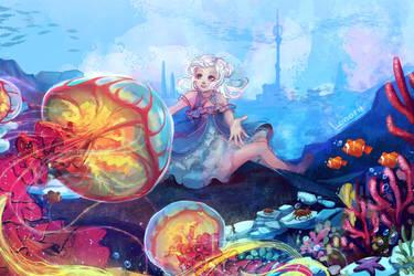 Secret Diver_art by Lonary