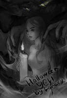 [Close] YCH Auction: 69. Halloween!_3 by Lonary