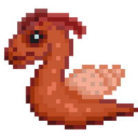 32x32 SCP 111 (Dragon snail) by cococamo919