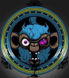 Monkey-Crest by Kopfnuss
