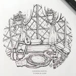 Sera's Room by AshenLights