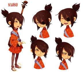 Character Study - Kubo by aryllins