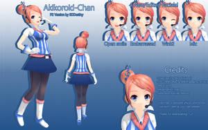 P2 Akikoloid-Chan Download by 3DDestiny